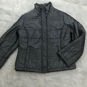 New York and company puffer jacket large